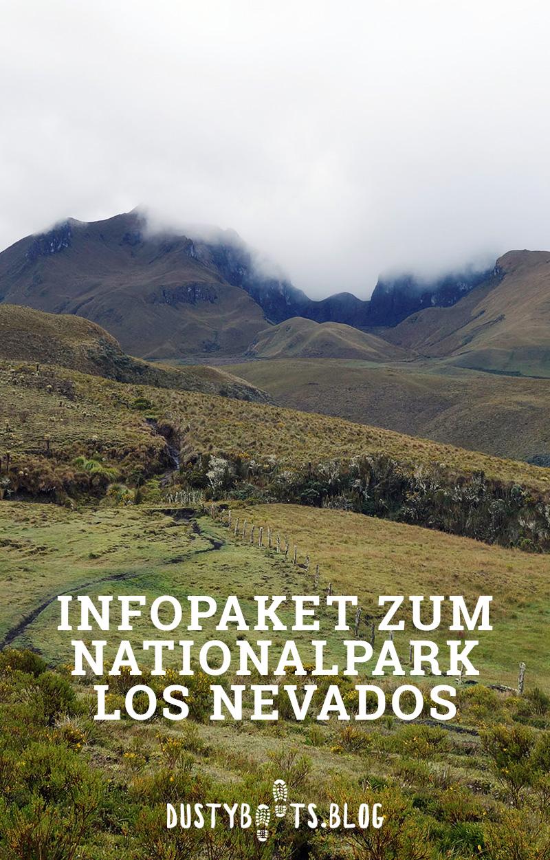 Infopaket zum Nationalpark Los Nevados