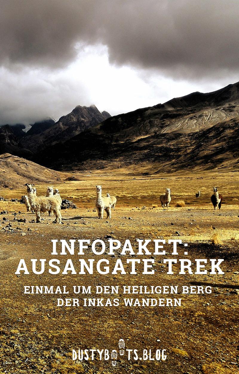 Infopaket zum Ausangate Trek in Peru