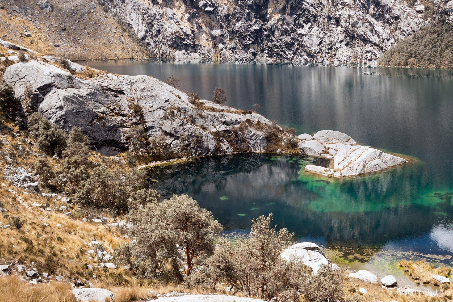 Laguna Churup Wasser