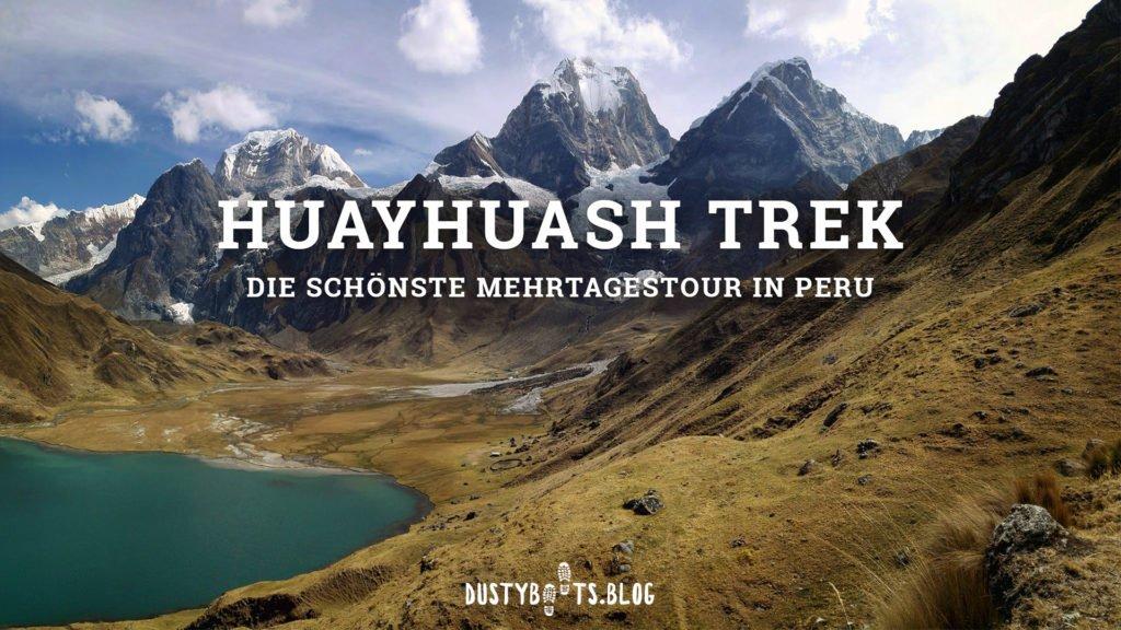 Huayhuash Trek - Mehrtagestour in Peru ohne Guide