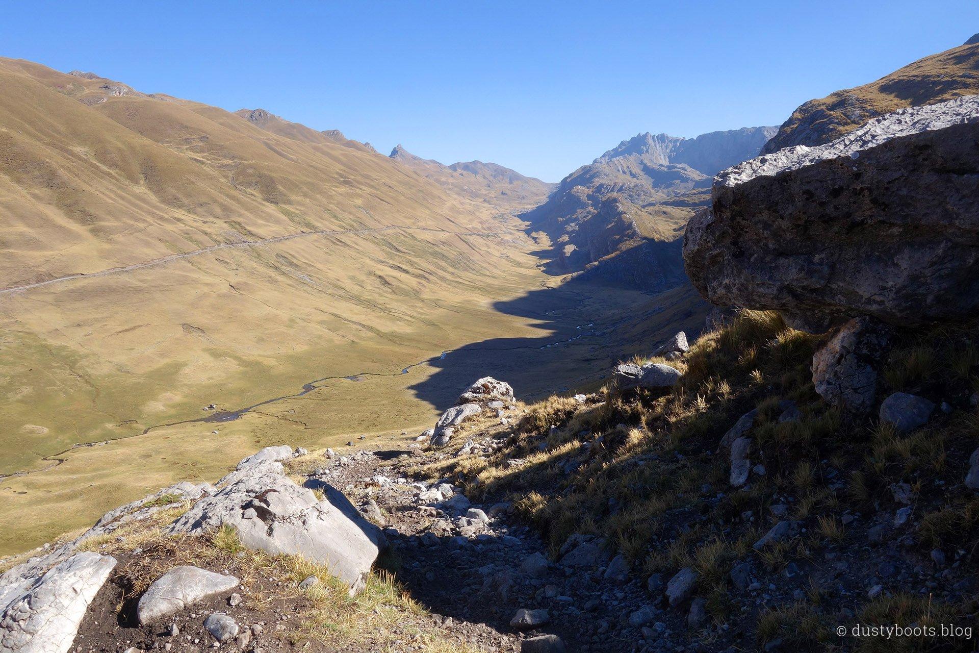 Tag 2: Aufstieg zum Pass Cascanan