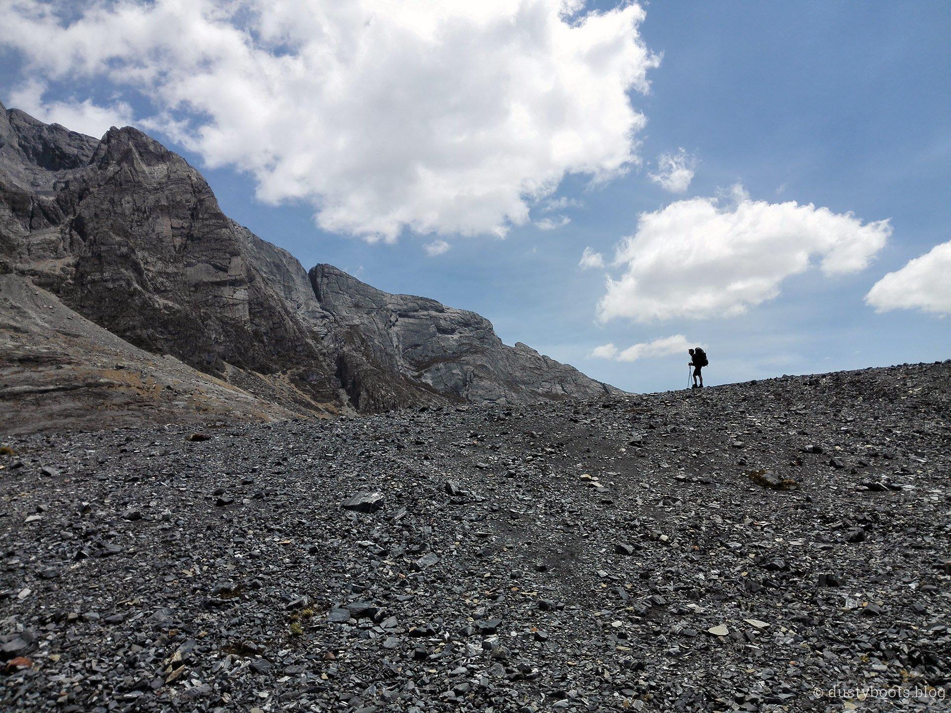 Tag 3: nach dem Kraxeln ist vor dem Abstieg