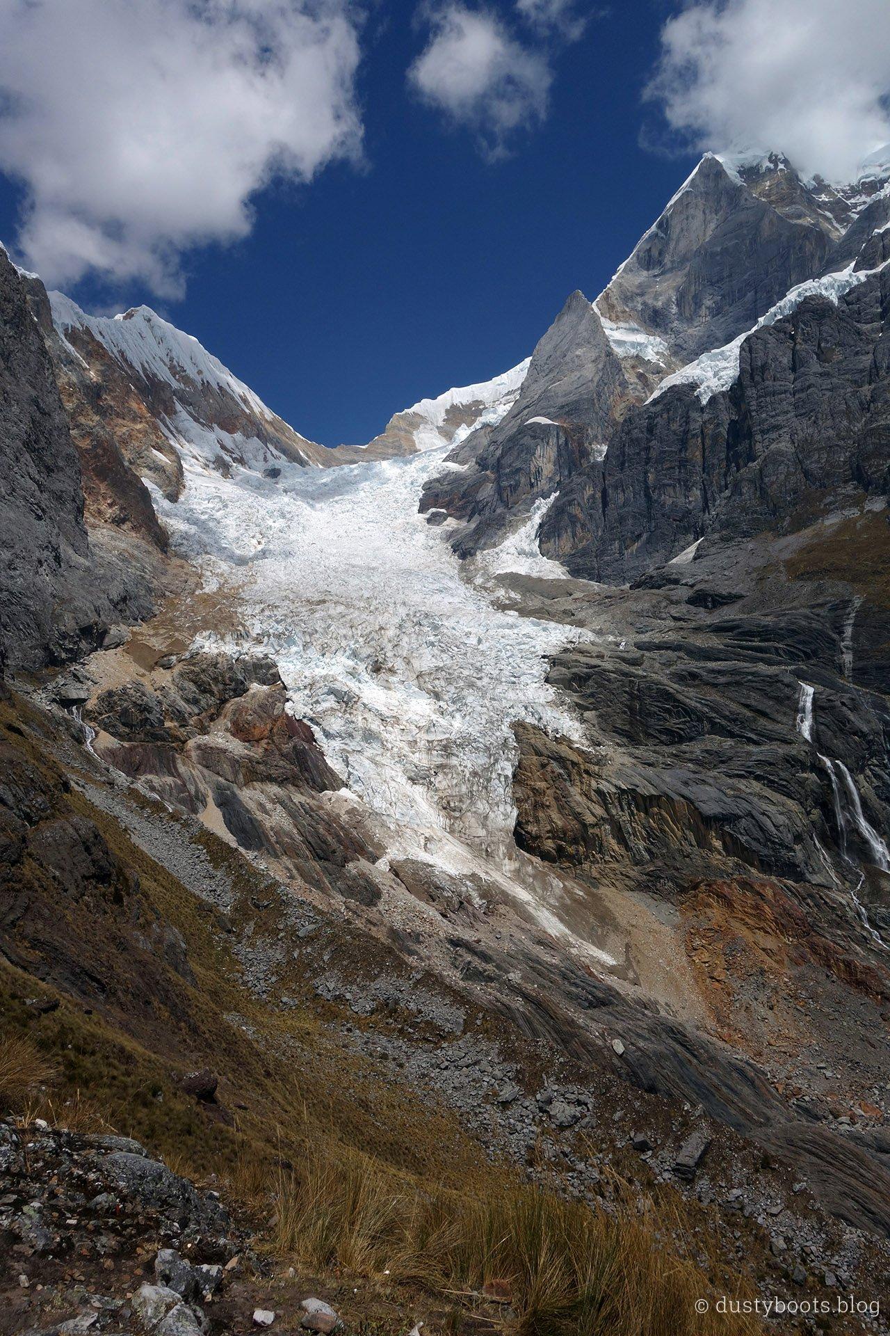 Tag 4: Der Gletscher reichte vor kurzem noch bis ins Tal :-(