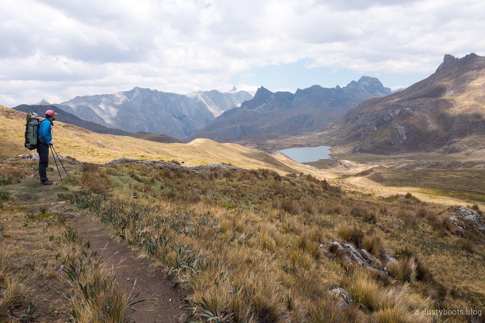 Tag 4: Abstieg zum Camp Huayhuash
