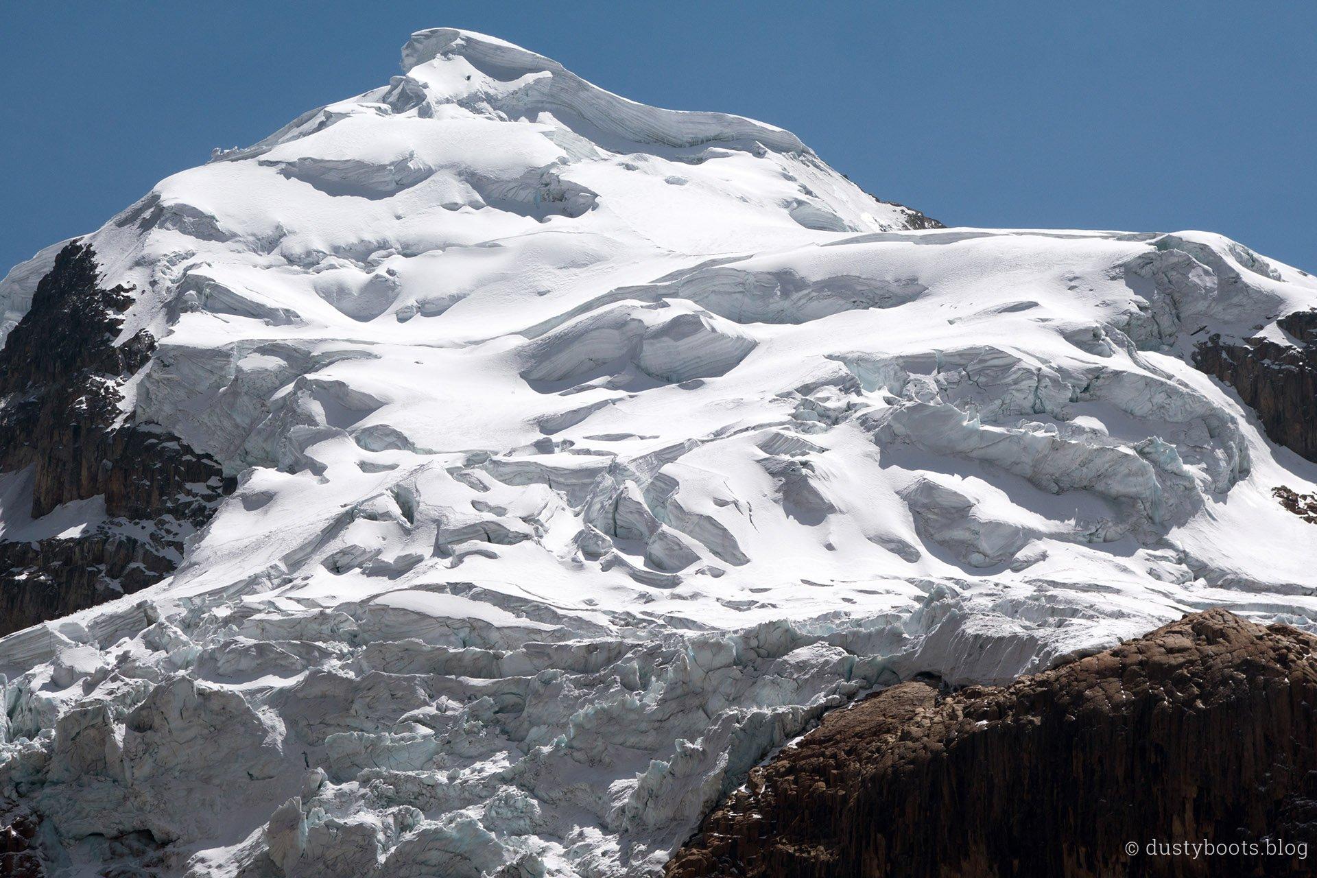 Tag 6: der eisige Nevado Cuyoc am Punta Cuyoc auf 5.000m