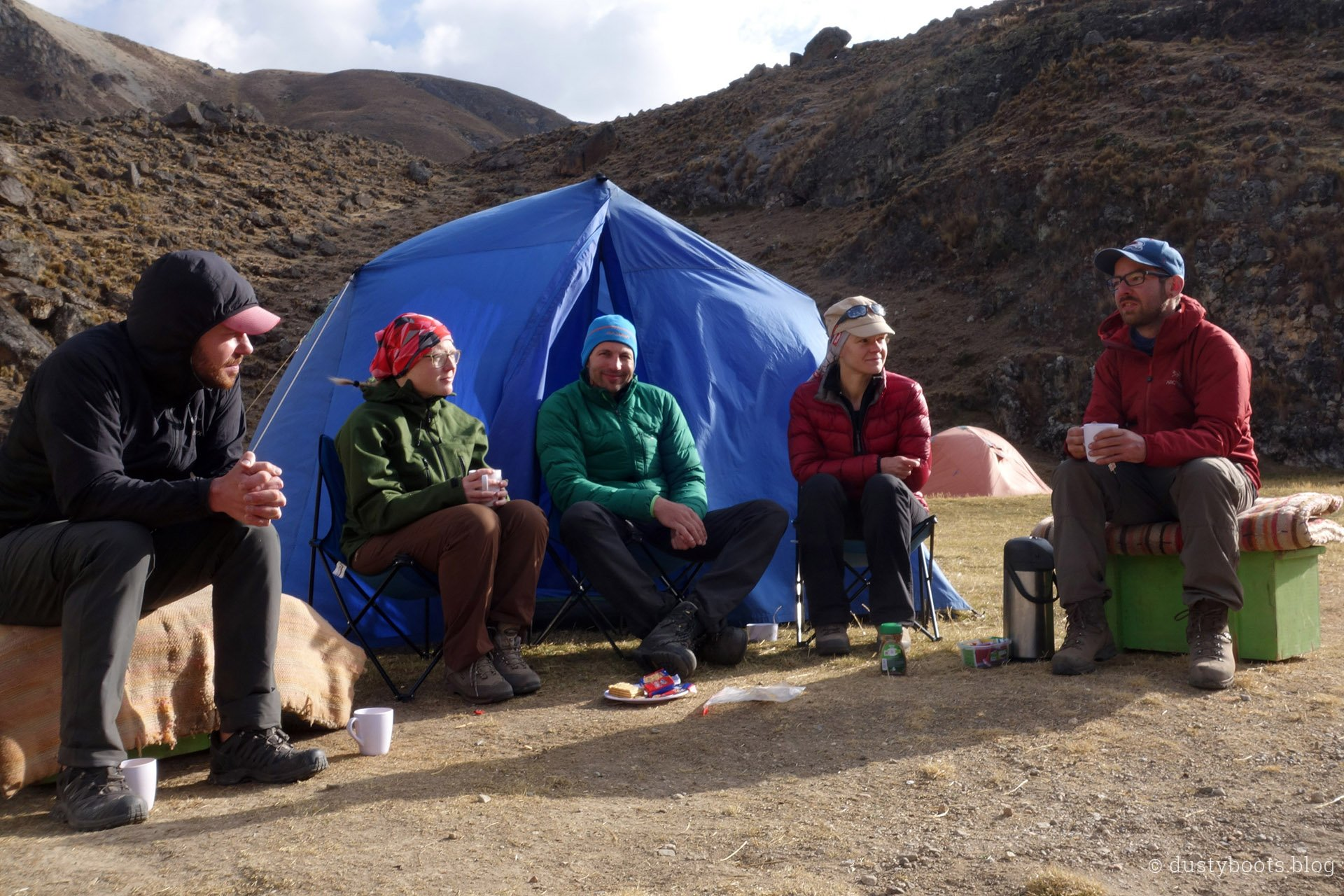 Tag 6: Teepause im Camp