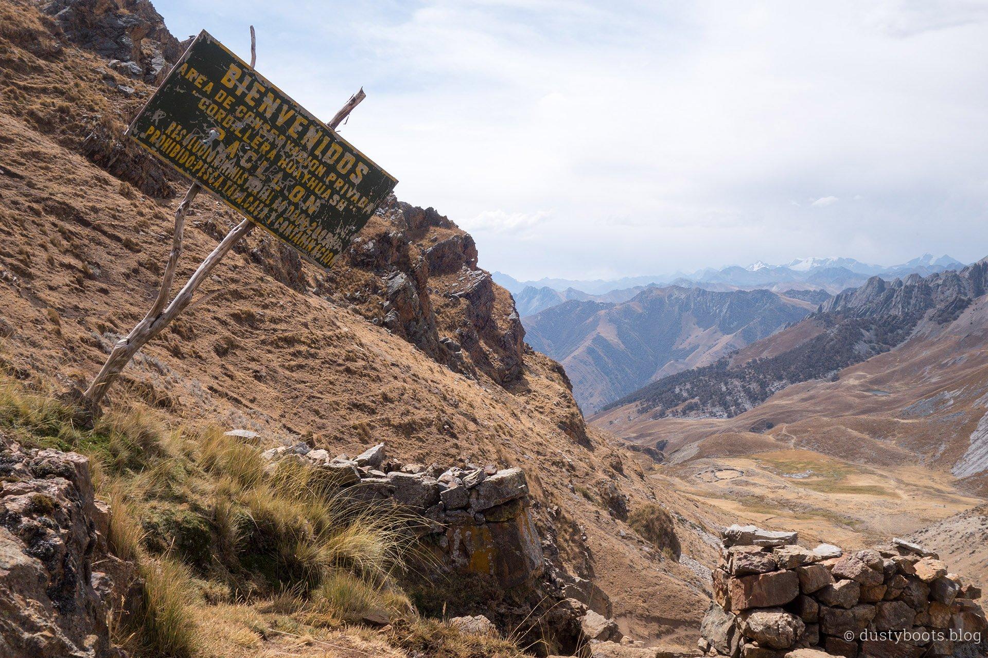 Tag 8: Abstieg vom Punta Tapush
