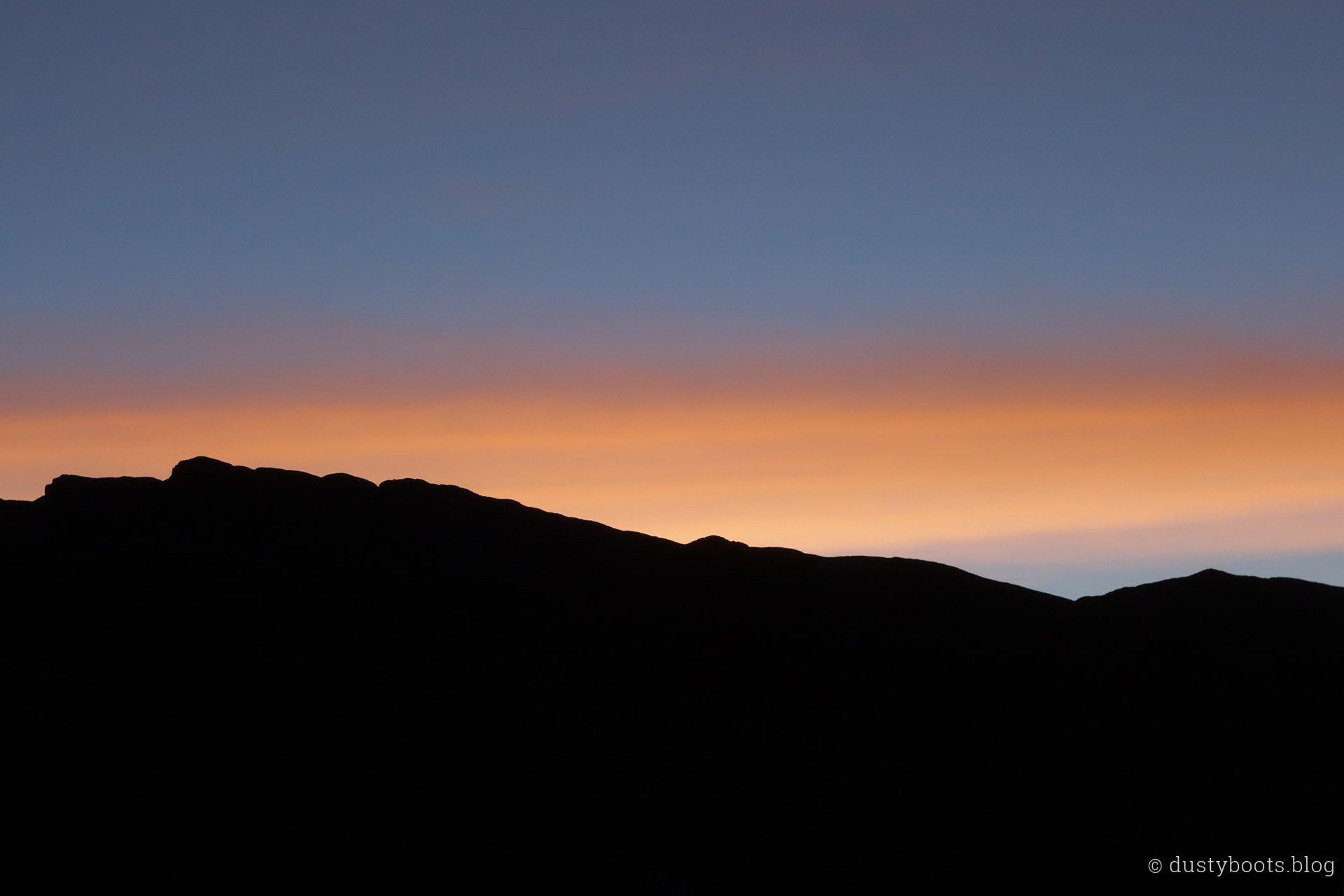 Tag 8: Tschüss liebe Sonne, bis morgen!