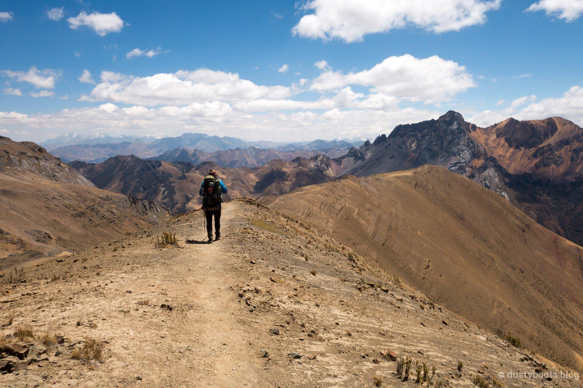 Tag 9: Höhenweg zur Laguna Jahuacocha