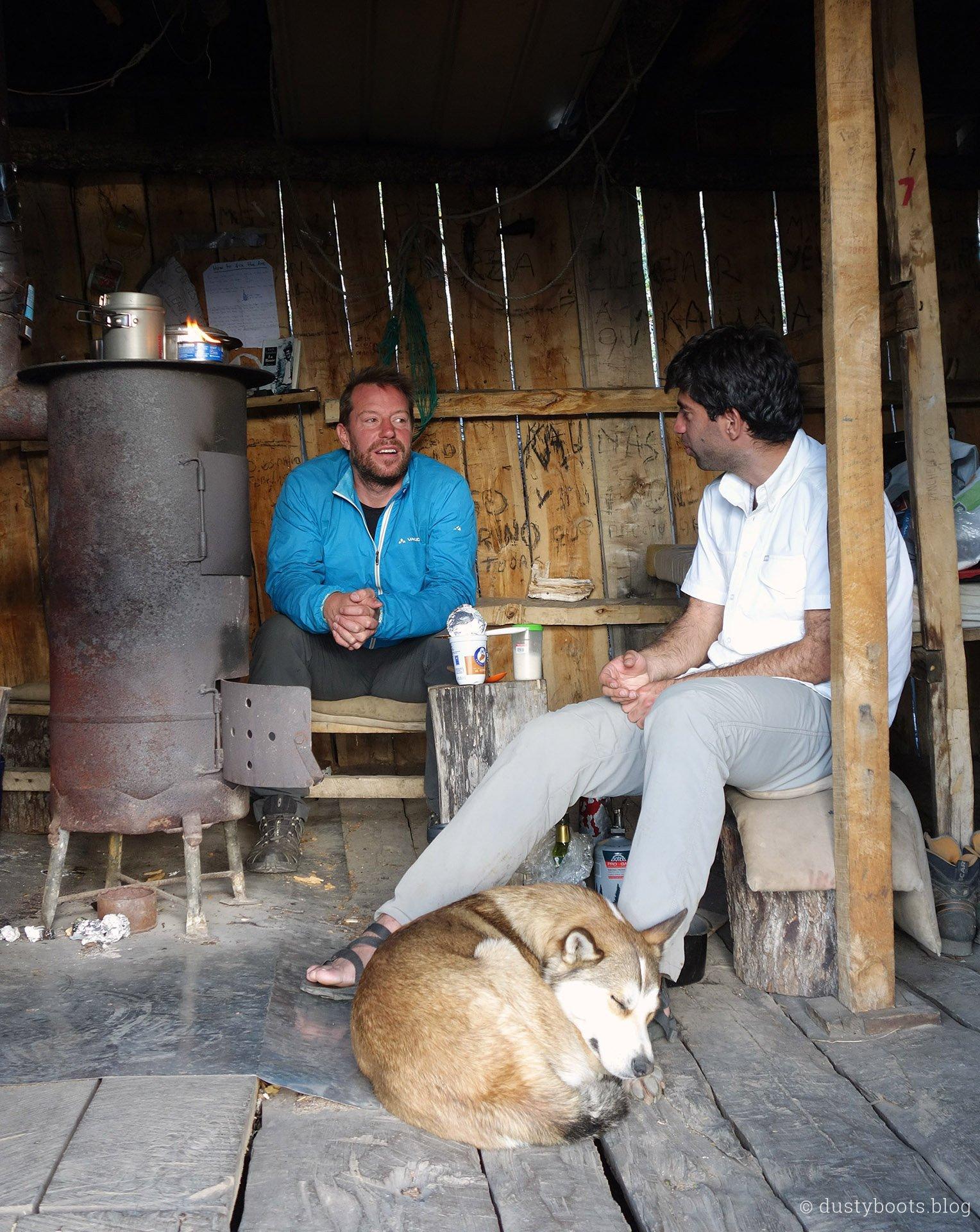 5-Sterne-Küche im Refugio Charles