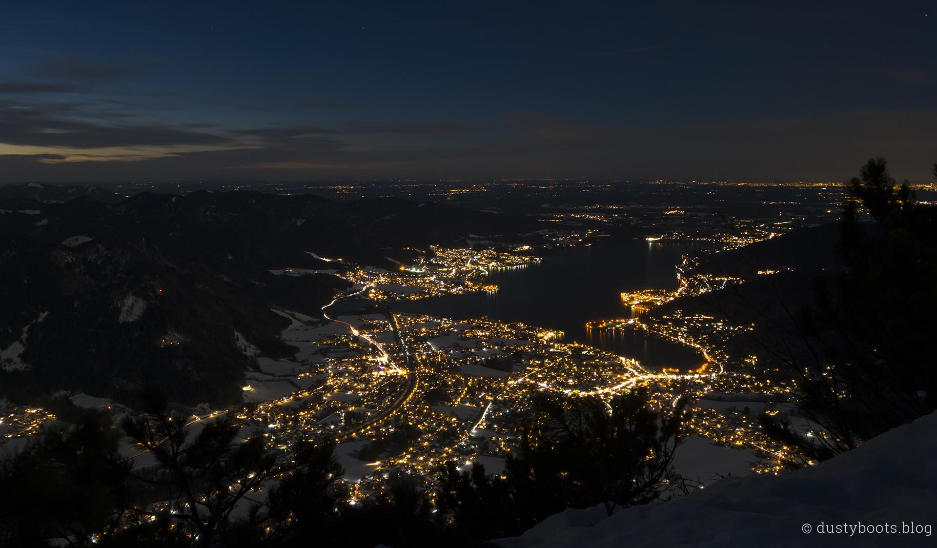 Lichtermeer am Tegernsee